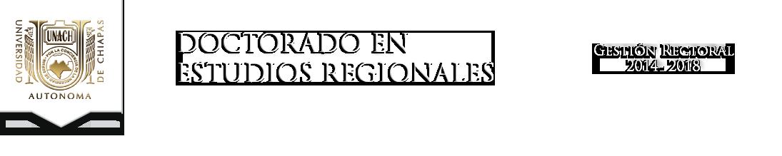 Doctorado en Estudios Regionales
